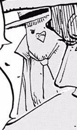 Hattori after the timeskip in the manga