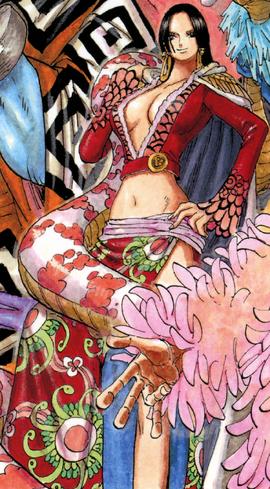 Boa Hancock in the manga
