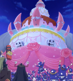 Sanji's Wedding Cake Completed.png
