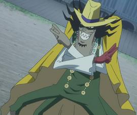 Vander Decken IX en el anime