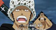 Buggy y piratas heart vs aokiji y kizaru 1
