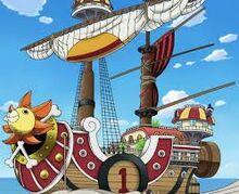 De Thousand Sunny, het tweede schip van de Straw Hats.jpg