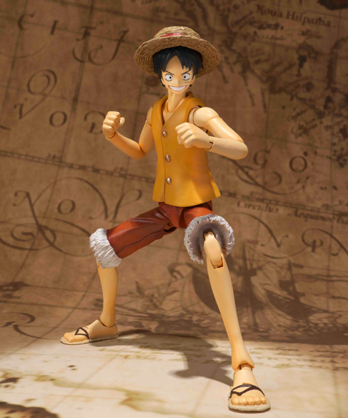 S.H. Figuarts Yellow Vest Luffy.png