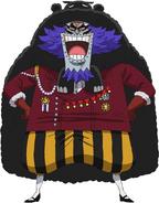 Wapol Timeskip Anime Concept Art