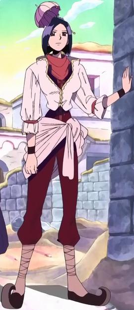 Rasa in the anime