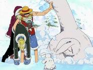 Luffy rettet einen Lapin