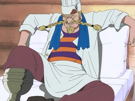 Zeff in the anime