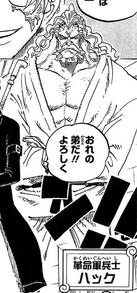 Hack in the manga