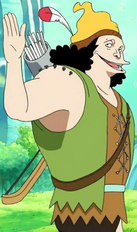 Peterman in the anime