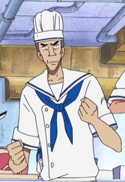 Billy (Cook) in the anime