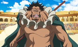 Sai in the anime