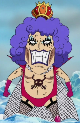 Emporio Ivankov in the anime