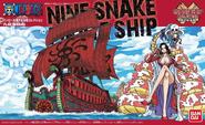 Portada caja nine snake pirates ship 2012