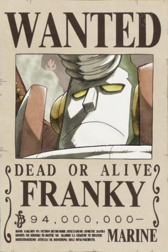 Wanted Posters One Piece Wiki Fandom