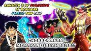 LAW MEMBERIKAN BUAH IBLISNYA KEPADA CHOPPER (ONE PIECE 987+)
