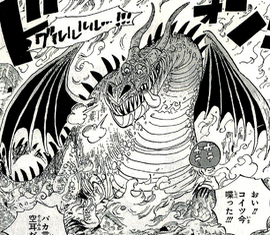 Dragon Number Thirteen in the manga