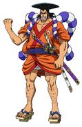 Kozuki Oden Anime Concept Art