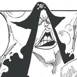 Lip Doughty in the manga
