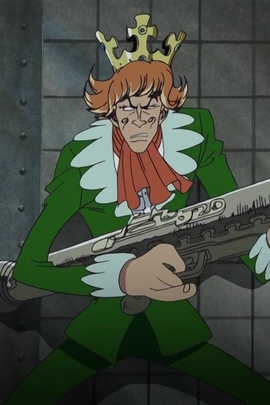 Mr. 9 before the timeskip in the anime