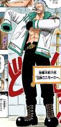 Smoker Pre Timeskip in Digitally Colored Manga