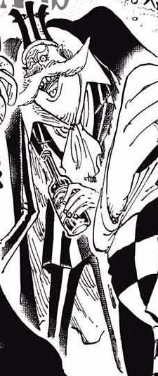 Giberson en el manga
