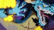 Oden blesse Kaido
