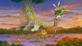 Forêt de le Baleine vu du ciel Anime.png