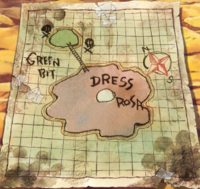 Mappa di Dressrosa e Green Bit