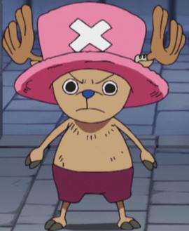 Tony Tony Chopper antes del salto temporal en el anime
