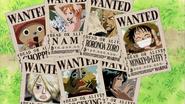 Wanteds de los Mugiwaras