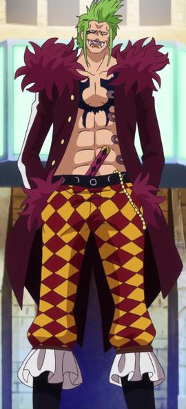 Bartolomeo in the anime