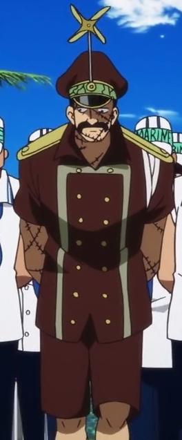 Genzo antes del salto temporal en el anime