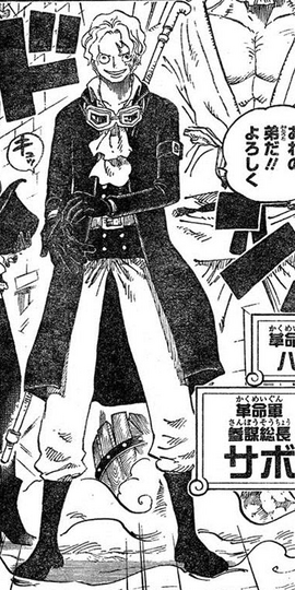 Sabo in the manga