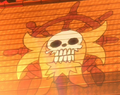Golden Lion Pirates' Jolly Roger.png