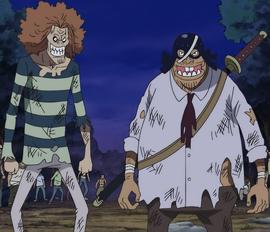 Hermanos Risky antes del salto temporal en el anime