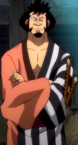 Kin'emon in the anime