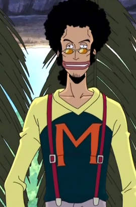 Maccus in the anime
