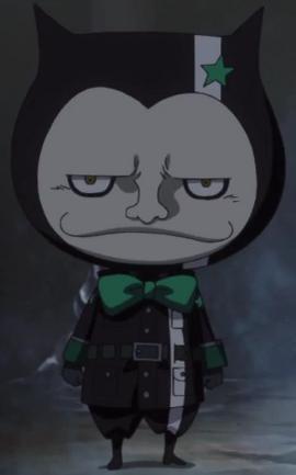 Tanaka in the anime