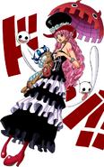 Perona Digitally Colored Manga After Timeskip