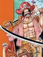 Roger Manga Color Scheme at Age 51