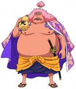 Ashura Doji Anime Concept Art