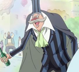 Giberson en el anime