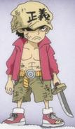 Sakazuki as a Child