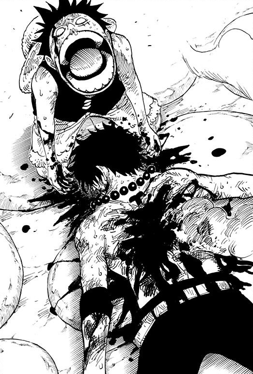 Ace's Bloody Death in the Manga.png