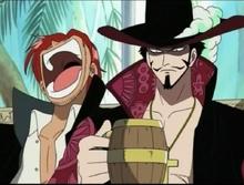 Shanks et Mihawk fête prime Luffy.png