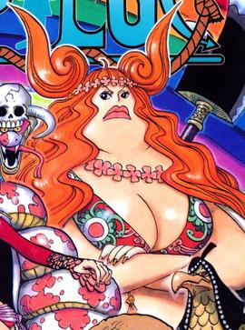 Boa Marigold en el manga