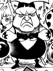 Bomba in the manga