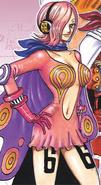 Vinsmoke Reiju Manga Color Scheme