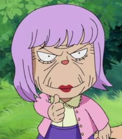 Luigia en el anime