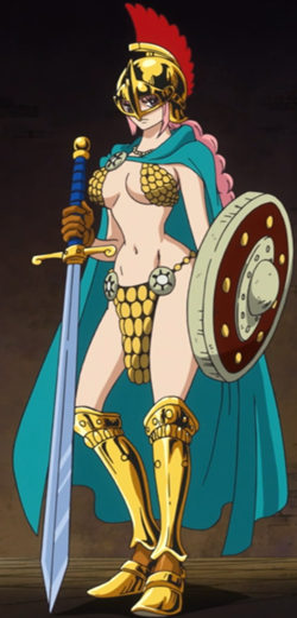 Rebecca dalam anime